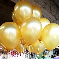 100pcs 12inch Latex Gold Balloon Celebration Party Wedding Birthday Balloons