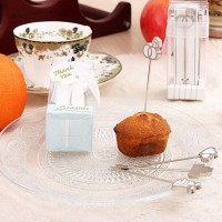 New Brand Creative Delicate Wedding Party Daily Use Stainless Shining Fruit Fork