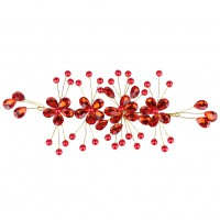 Nice  Bridal Flower Wedding Crystal Headband Hair Clip For Evening Dress Fashion