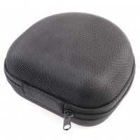 1pc Headphones Box Headphone Carry Case Boxs Semicircular Storage Box Earplug