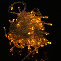 10m 100pcs Outdoor LED Light String Lights-EU Yellow Christmas Xmas Decoration
