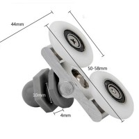25mm Diameter Double-Wheeled Replacement Shower Door Roller Runner Wheel