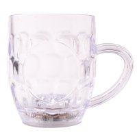 Lighting Platinum Beer Cup LED Flashing Inductive Rainbow Colour Cup