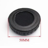 50MM Ear Pads Cushion Cups Replacement For comment 50MM Earphone Headset Earpads