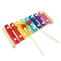 Hand Knock Wood Piano Kids Toy Xylophone Music Rhythm Learnin In Advance