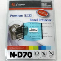 Emora Premium LCD Screen Panel Protector for Nikon D70