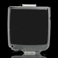 BM-6 Snap On Hard Crystal LCD Screen Cover Protector for Nikon D200