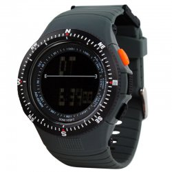 0989 Multi-Function Sports Watch Outdoor Sports Waterproof Watch Gray